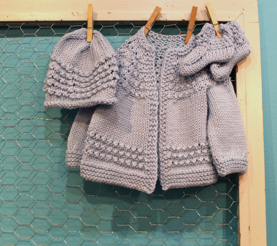 Five-Hour Baby Sweater