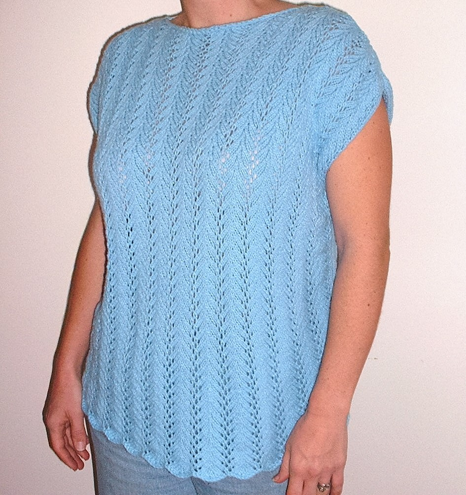 Fearless Knitting Series: Lace Top