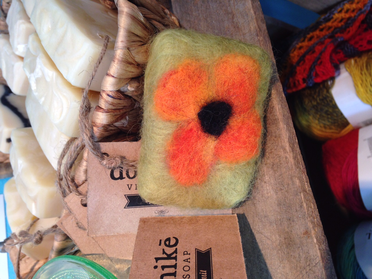 Make And Take Felted Soap