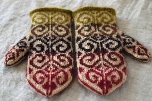 fiddlehead mittens