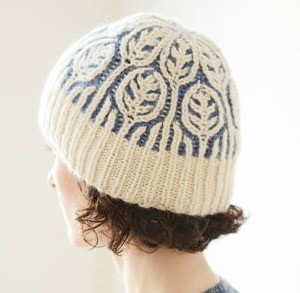 Brioche 4: Frost On Leaves Hat